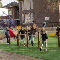 featured image Straatvoetballers openen groene 'beweegpleinen'