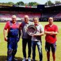 featured image BSNC-lid NEC speelt op beste veld van Jupiler League